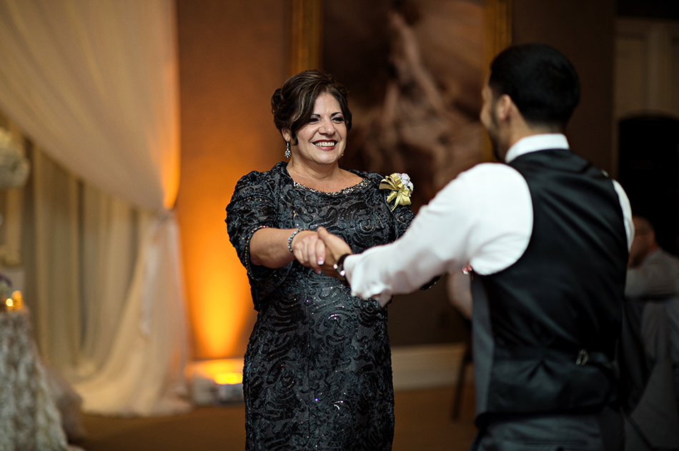 mother of the groom dancing
