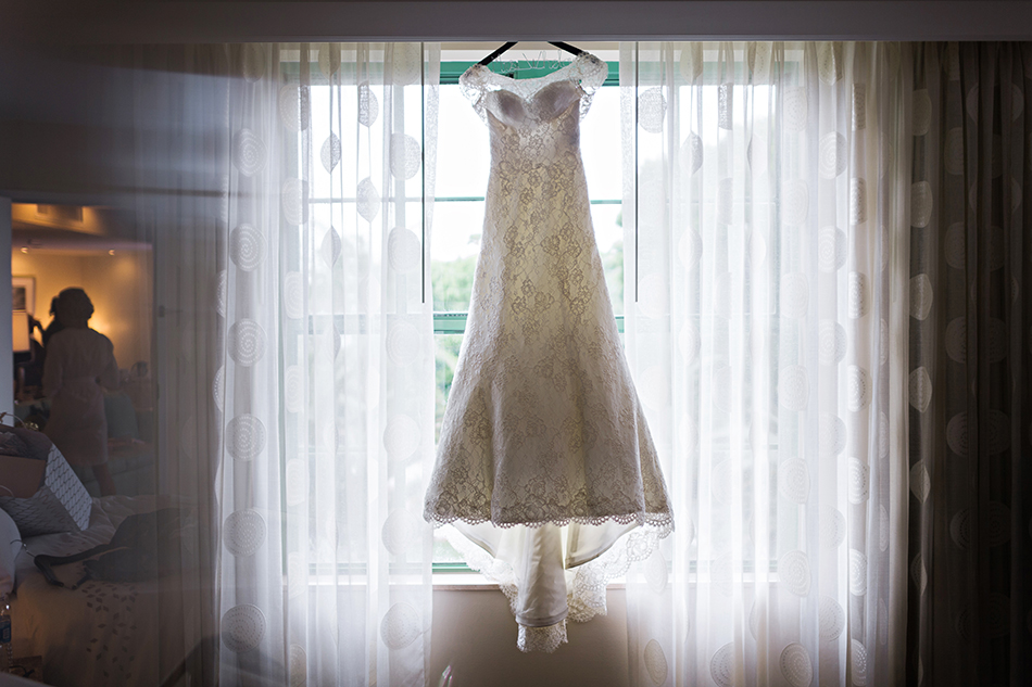 Augusta Jones wedding gown