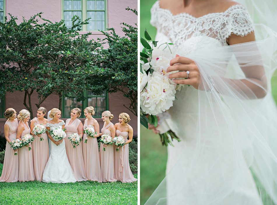 blonde bridesmaids