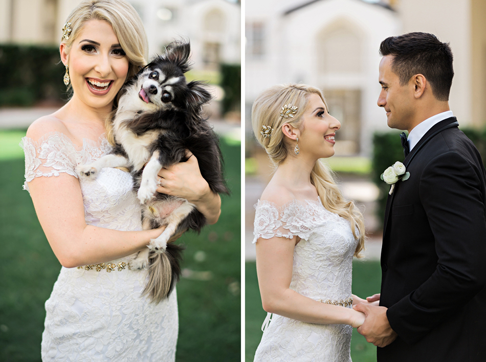 Furry friends at your wedding