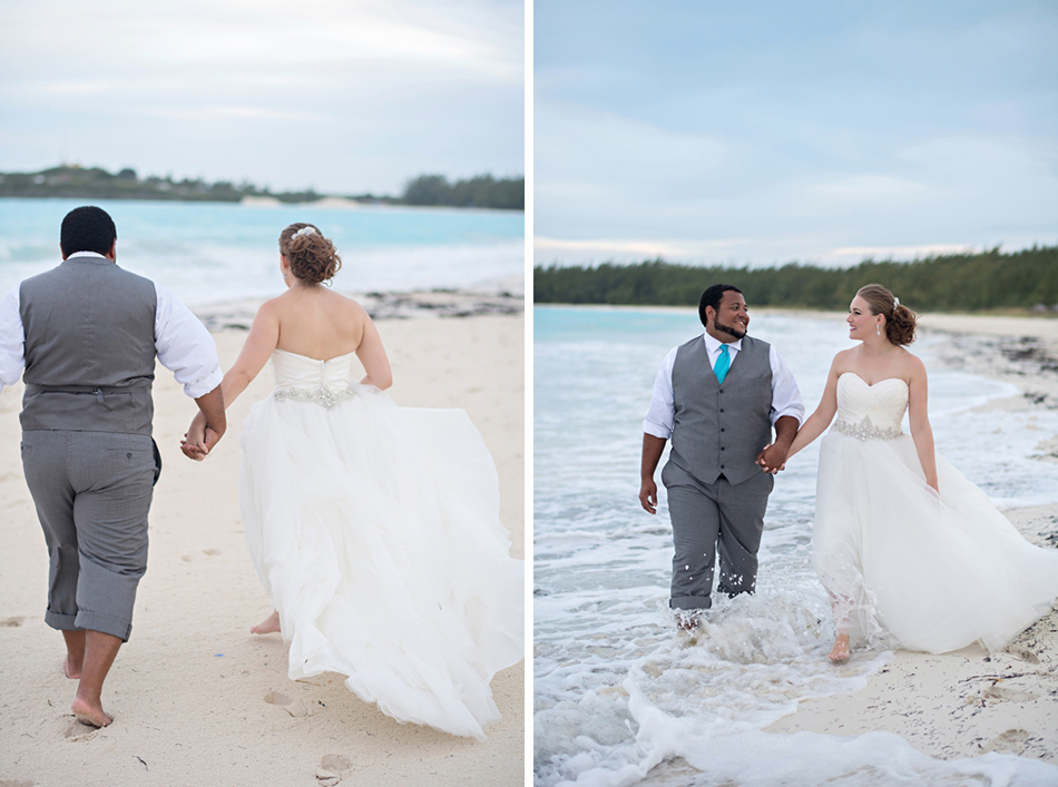 bahamas trash the dress session