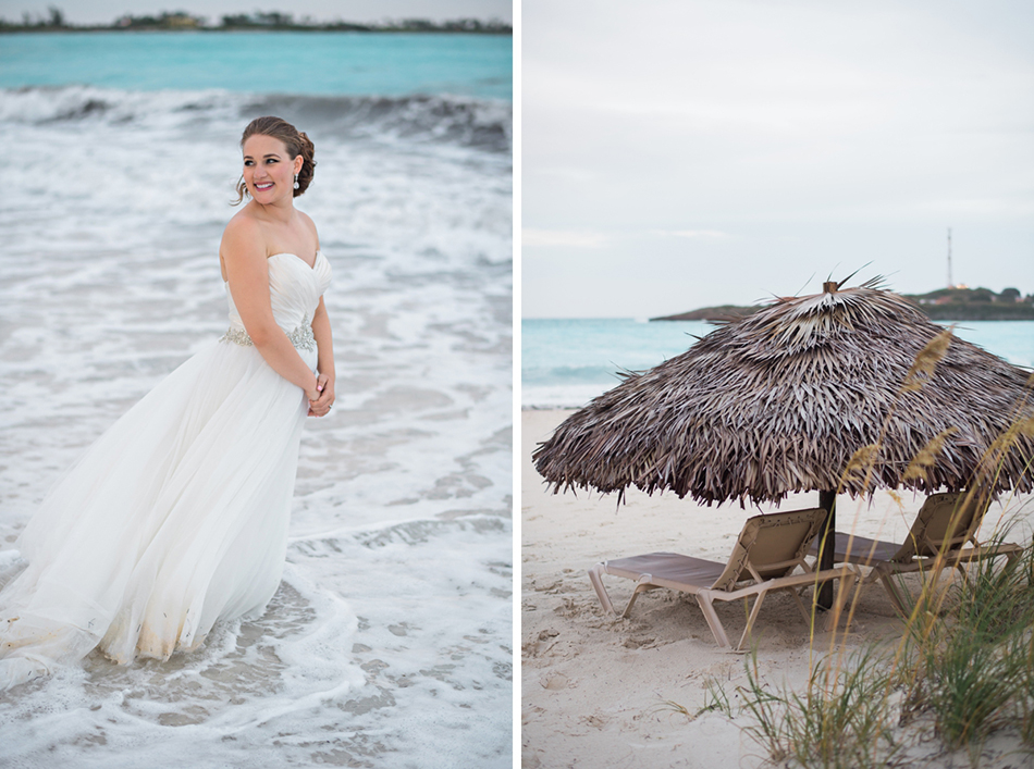 Bahamas wedding at Sandals Exuma