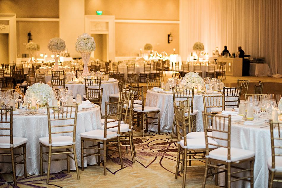 gold ballroom reception at the jw marriott in orlando fl