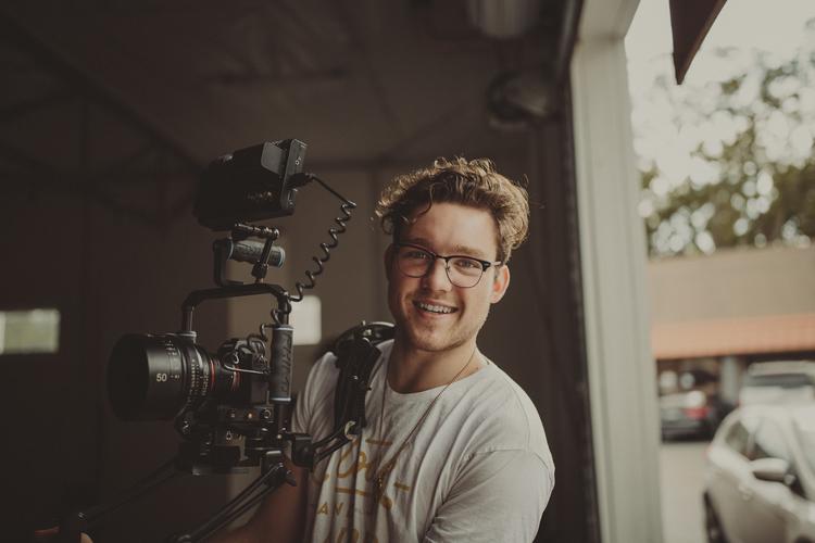 Videographer Seth Dunlap