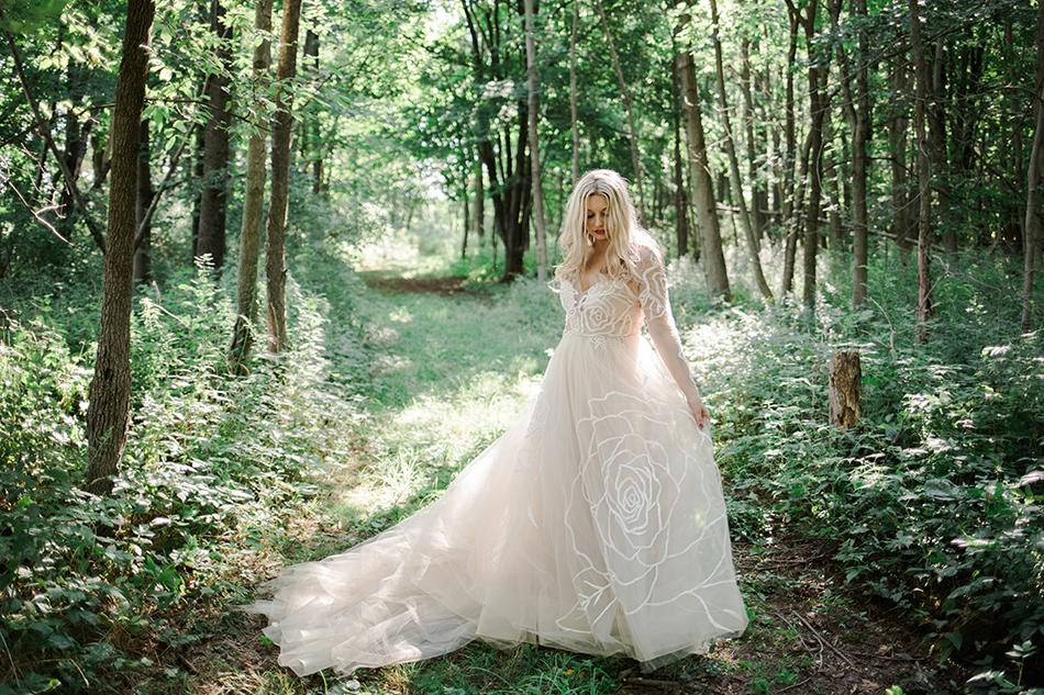 Whimsical Wedding Photography: Whimsical Woodland Wedding In Upstate NY