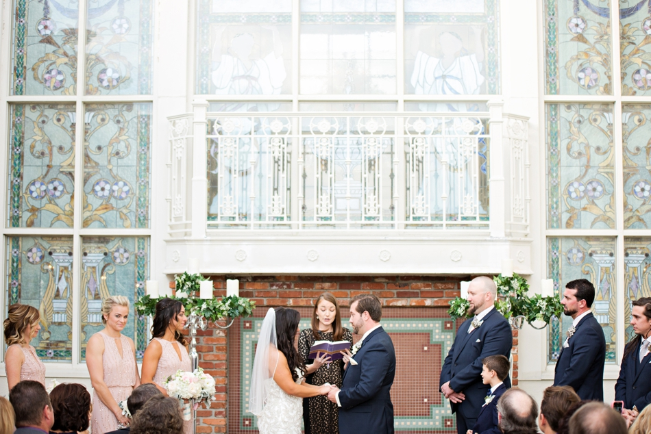 ballroom at church street wedding outside ceremony