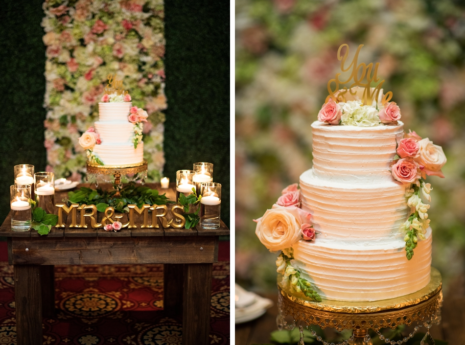cake background flower wall