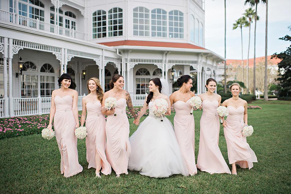 Walt Disney World wedding at the Grand Floridian
