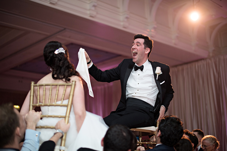 Jewish wedding - Ballroom reception at the Boardwalk Resort in Disney
