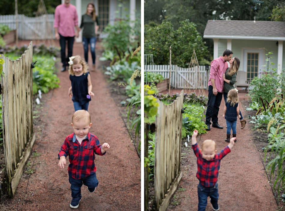 holiday family portrait session in orlando