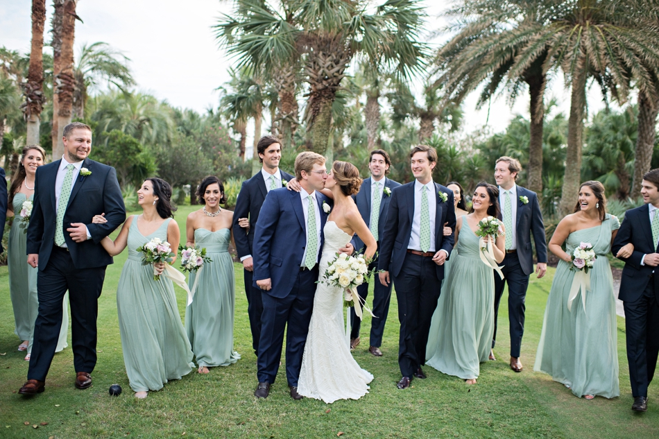 preppy wedding party