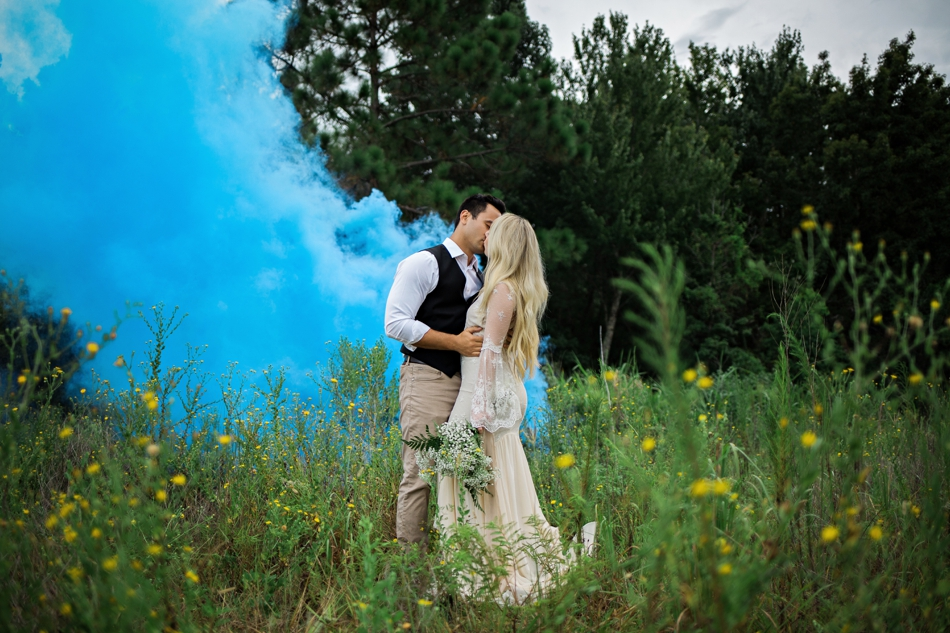 smoke bomb photo shoot in orlando