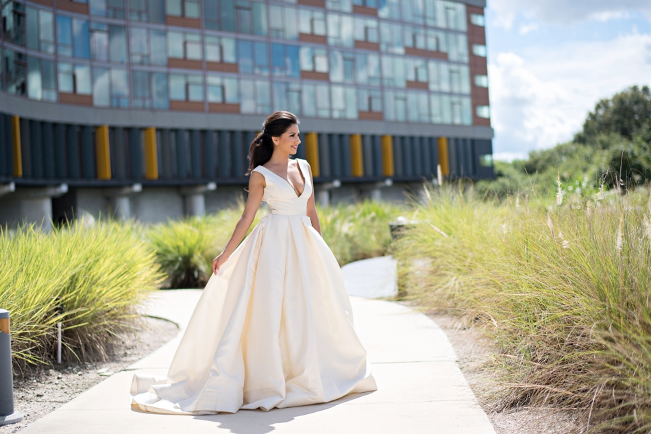 streamsong resort wedding and gown from Calvet Couture