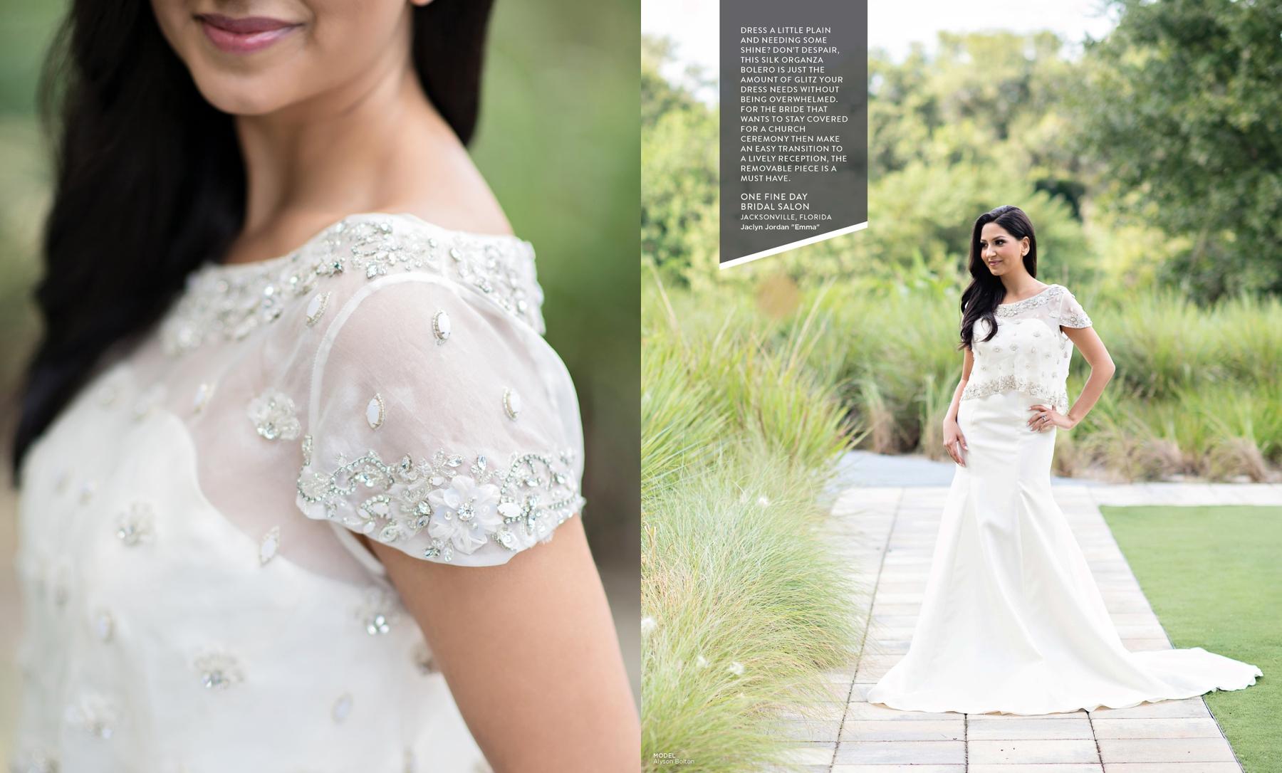 Jaclyn Jordan Emma wedding gown