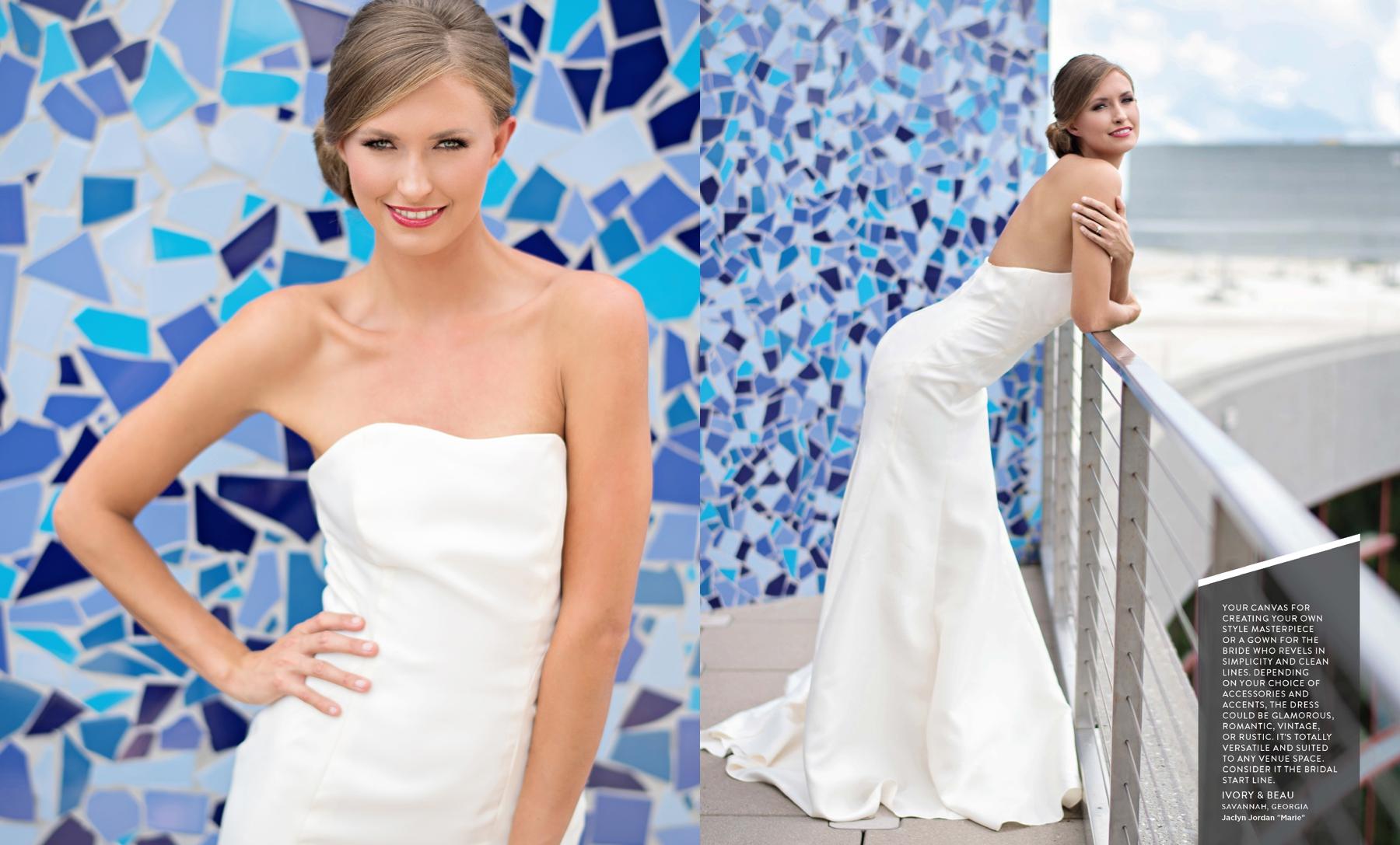 Jaclyn Jordan Marie wedding gown