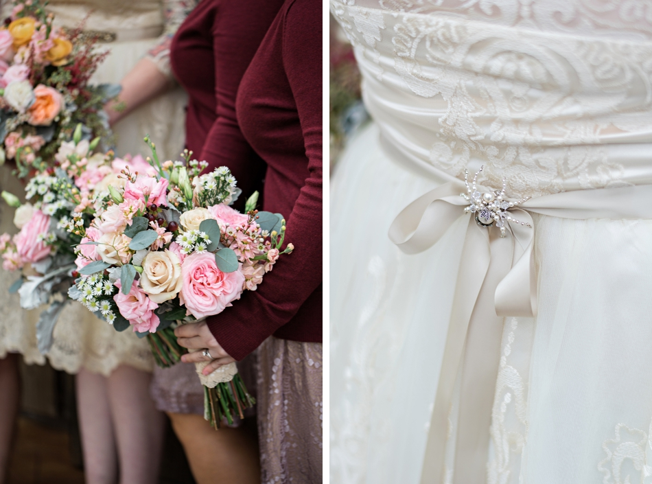 vintage wedding brooch