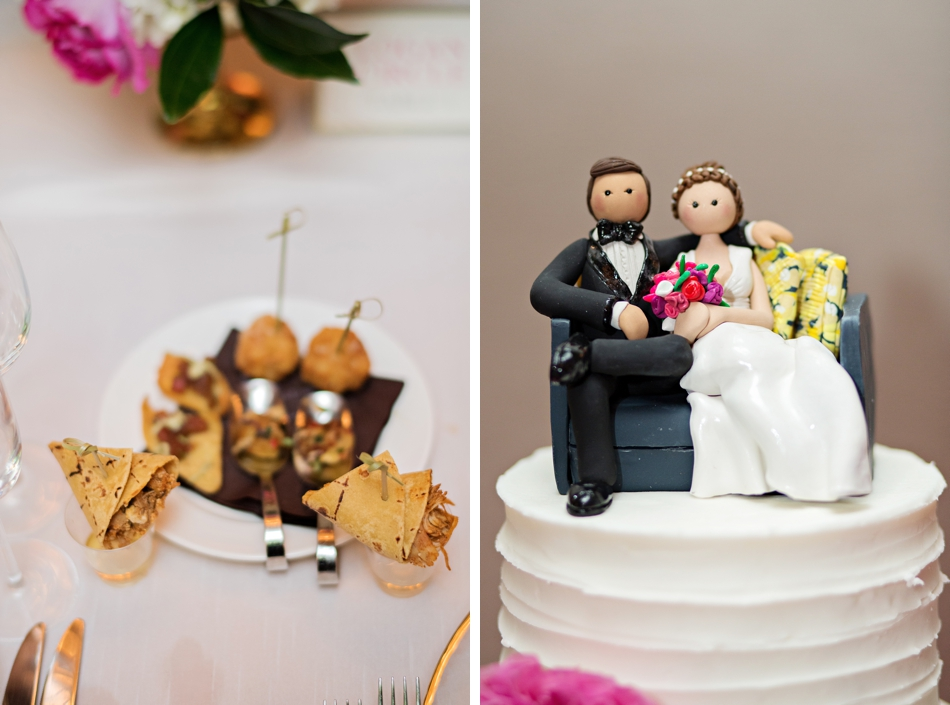 cute cake topper for wedding cake