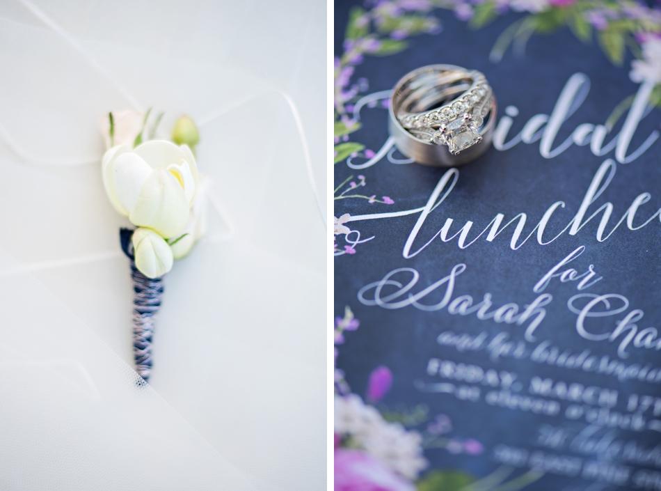 something blue wedding details