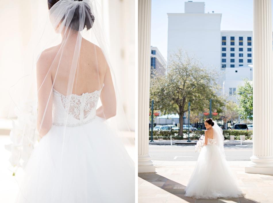 unique back wedding dress