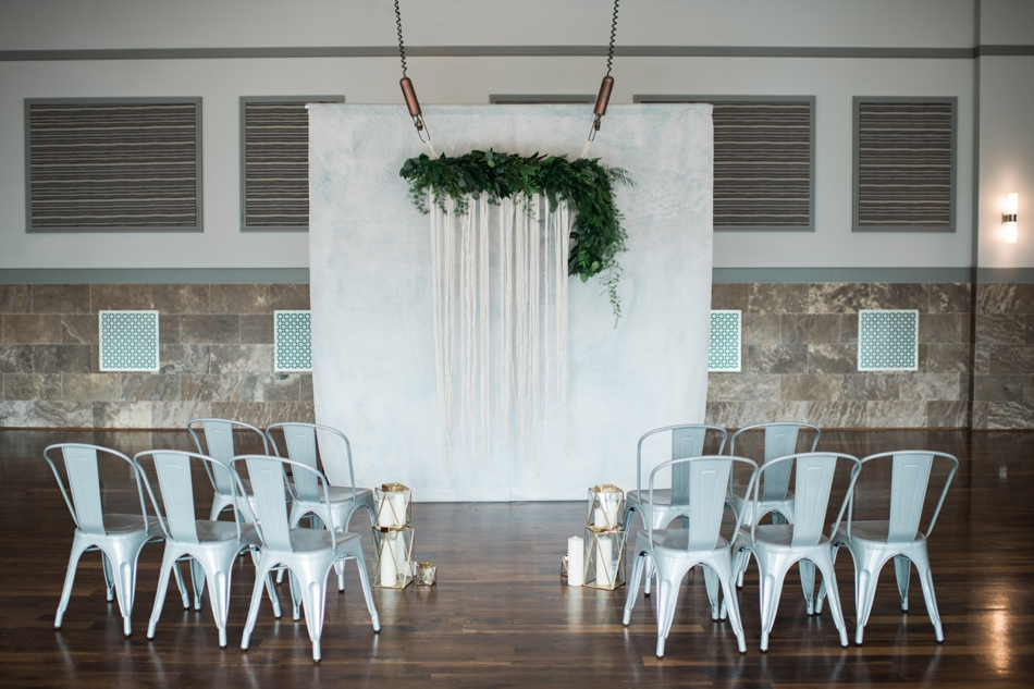 Modern ceremony space