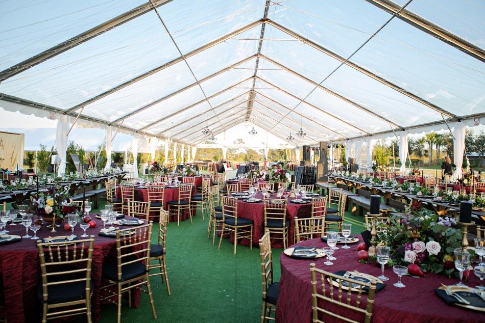 luxury wedding, tented wedding