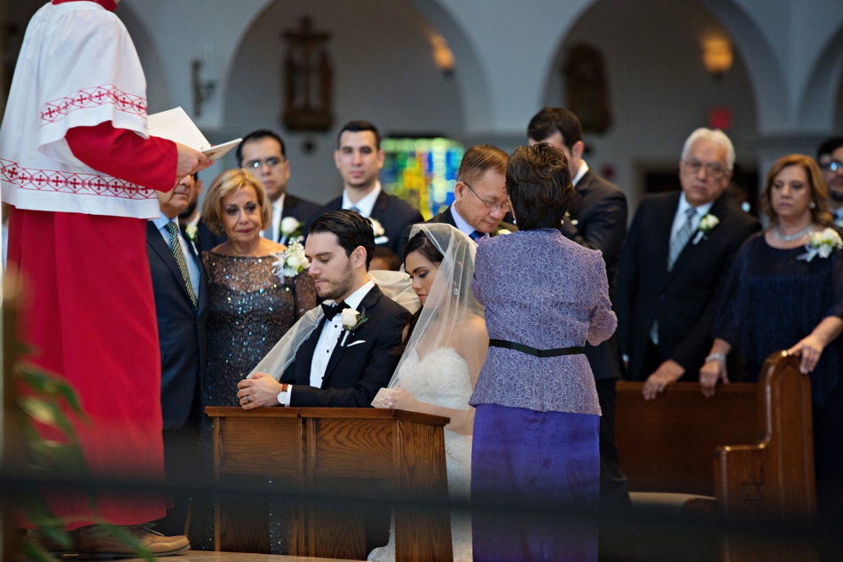 multicultural wedding ceremony - veil ceremony
