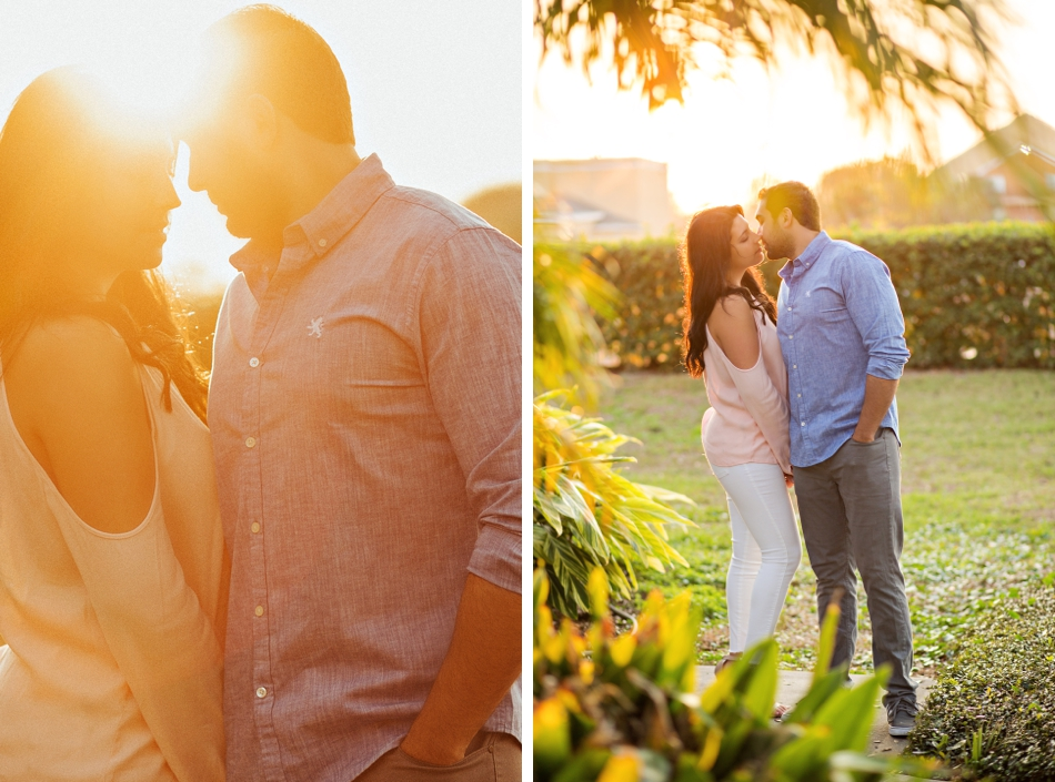 romantic sunset photos
