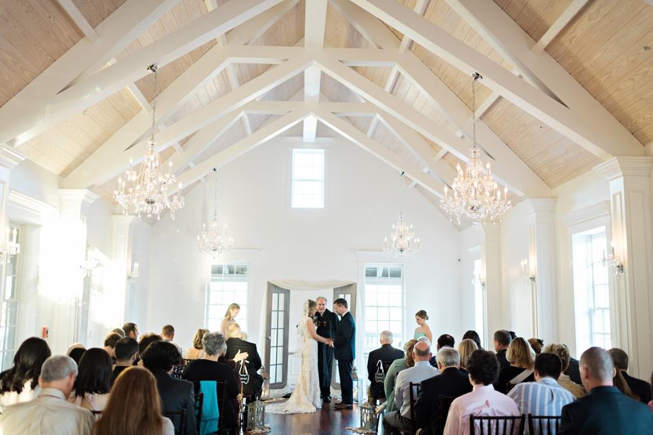 Villa Blanca wedding ceremony