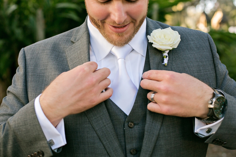 groom fixing jacket