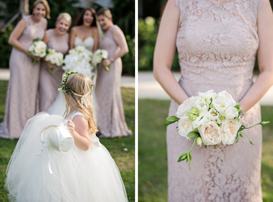 neutral wedding party colors