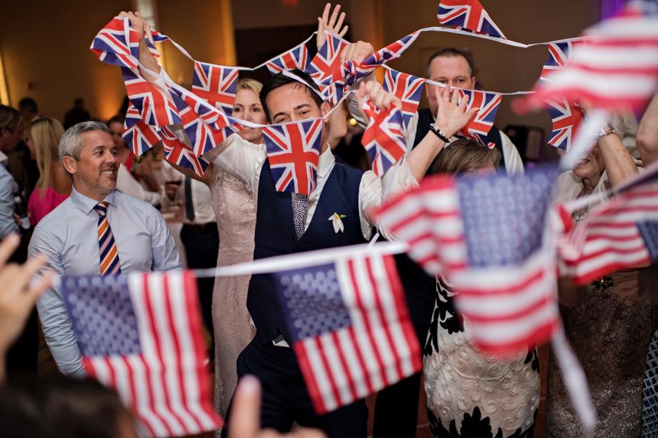 UK flags - unique reception ideas