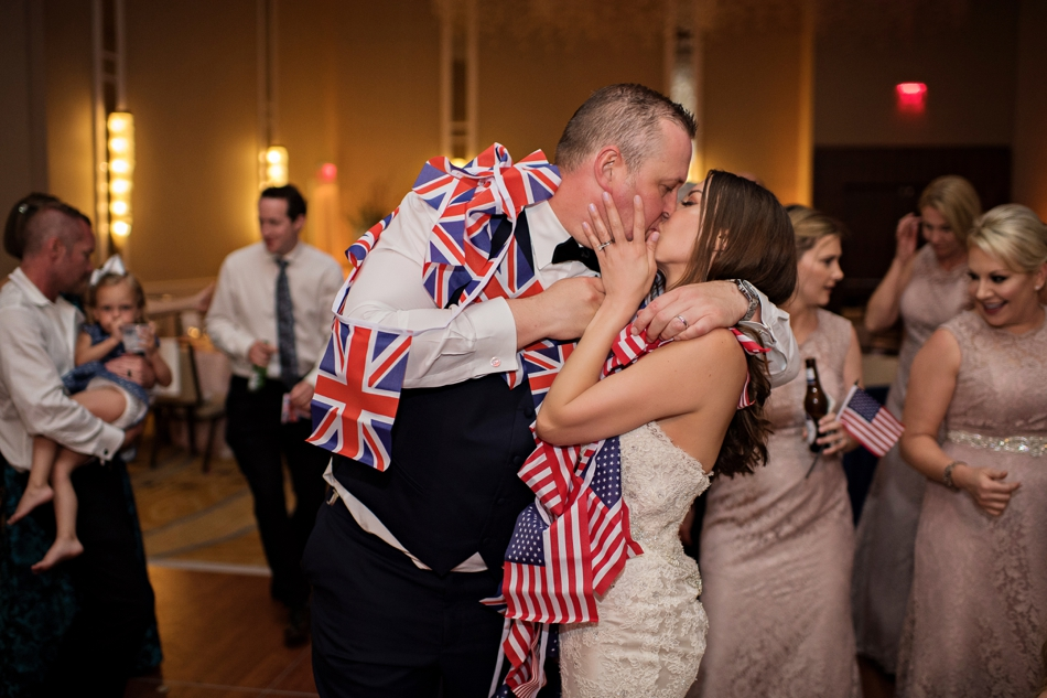UK and USA wedding