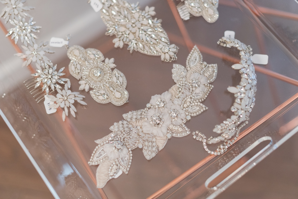 Untamed Petals wedding accessories