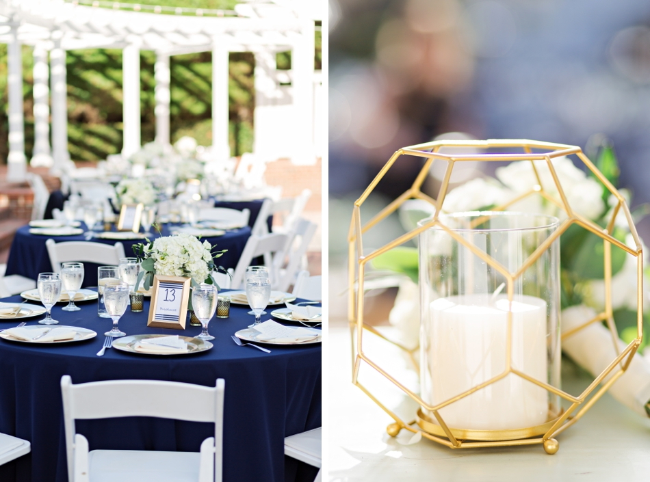 Modern accents for tablescapes
