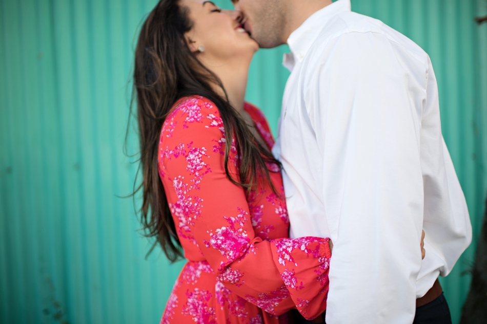 cute dress for engagement photos
