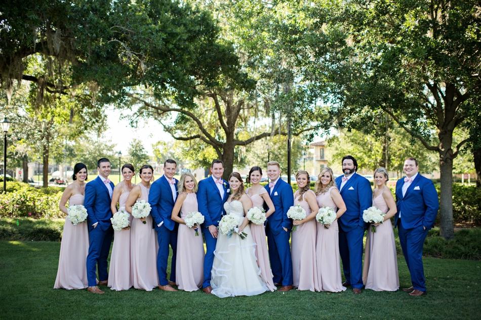 Posing a bridal party