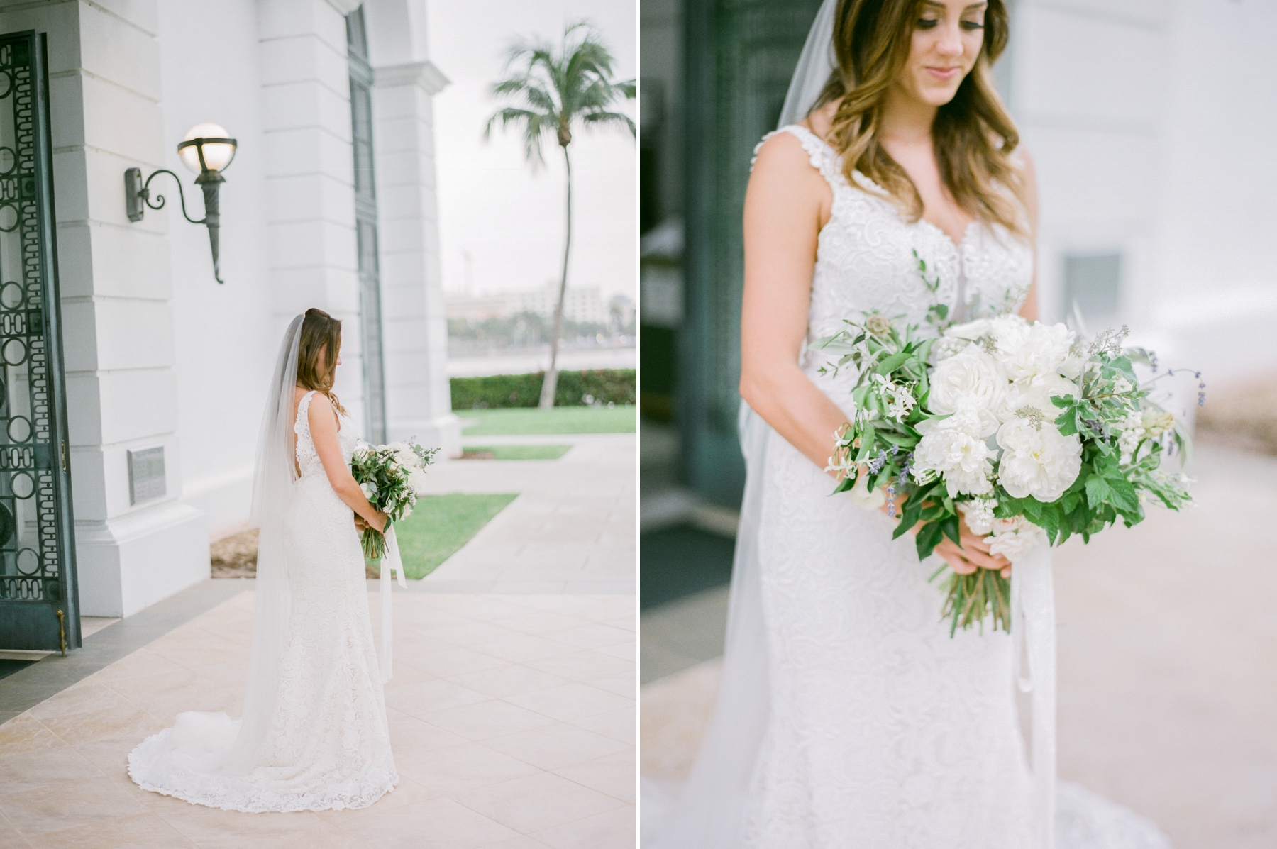 beautiful bouquet photographed on film