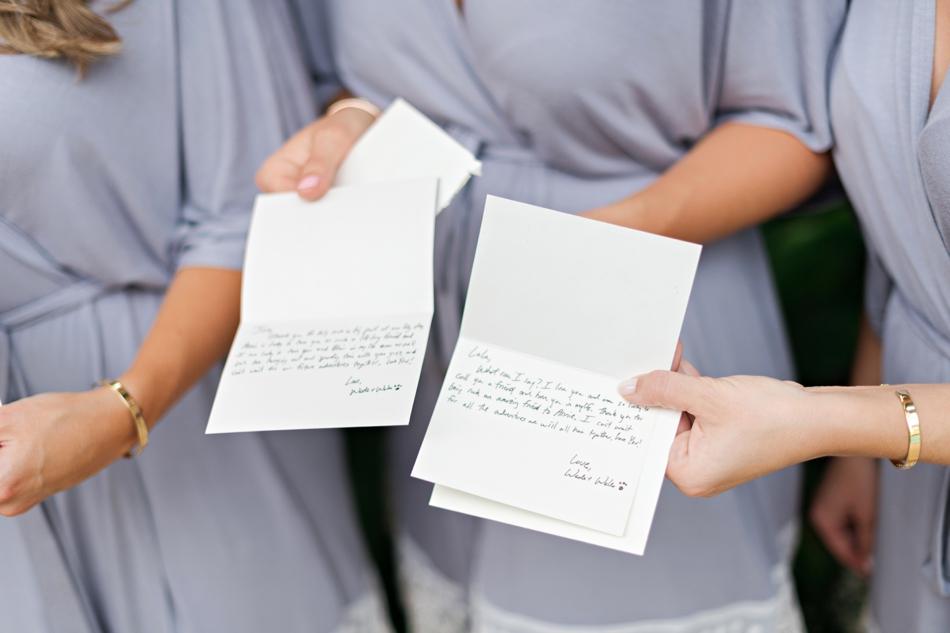 wedding notes