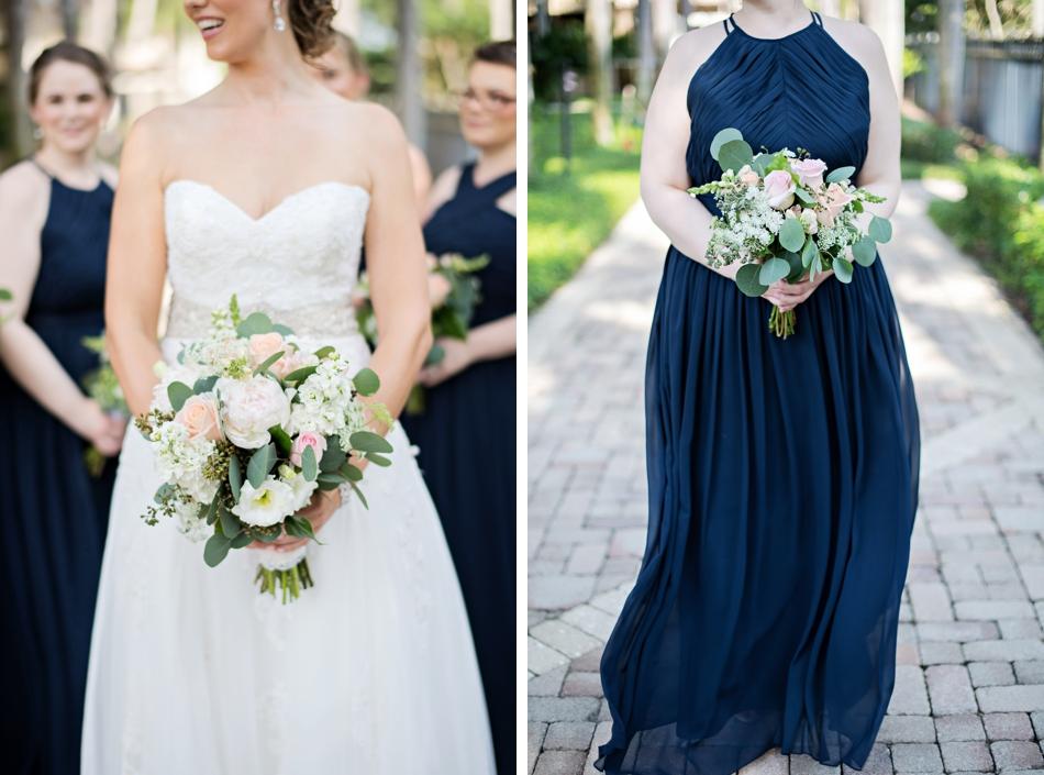 Bridesmaid dresses spring wedding