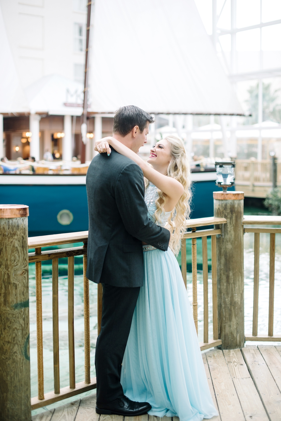engagement session at gaylord palms