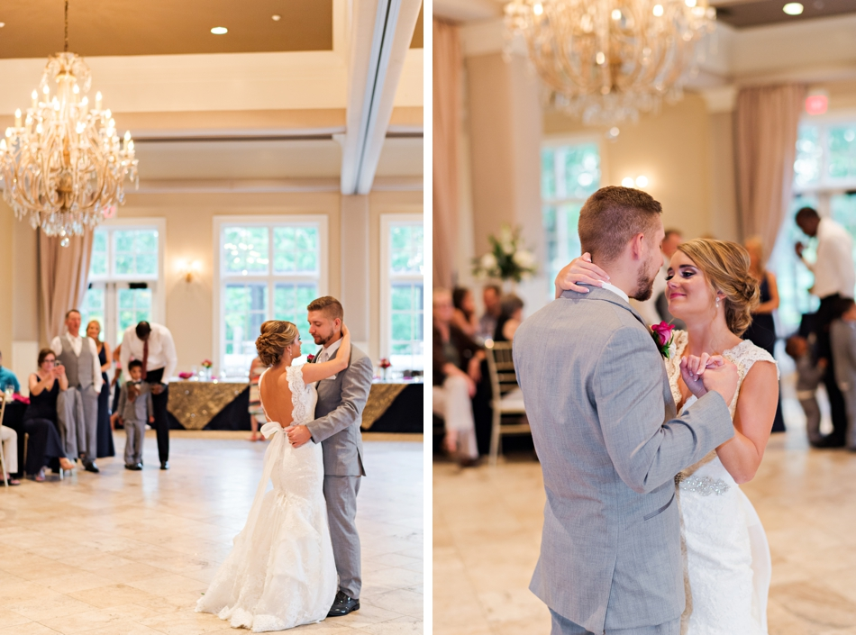 first dance ballroom reception