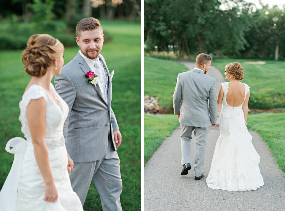 Pinnacle Golf wedding venue by columbus wedding photographer