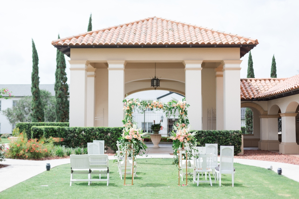 alfond inn small wedding outdoor ceremony