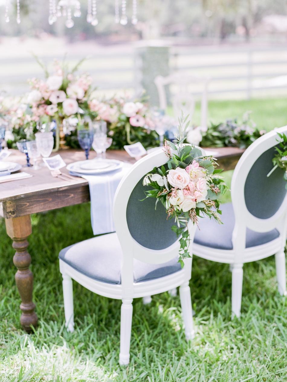 flower chairbacks