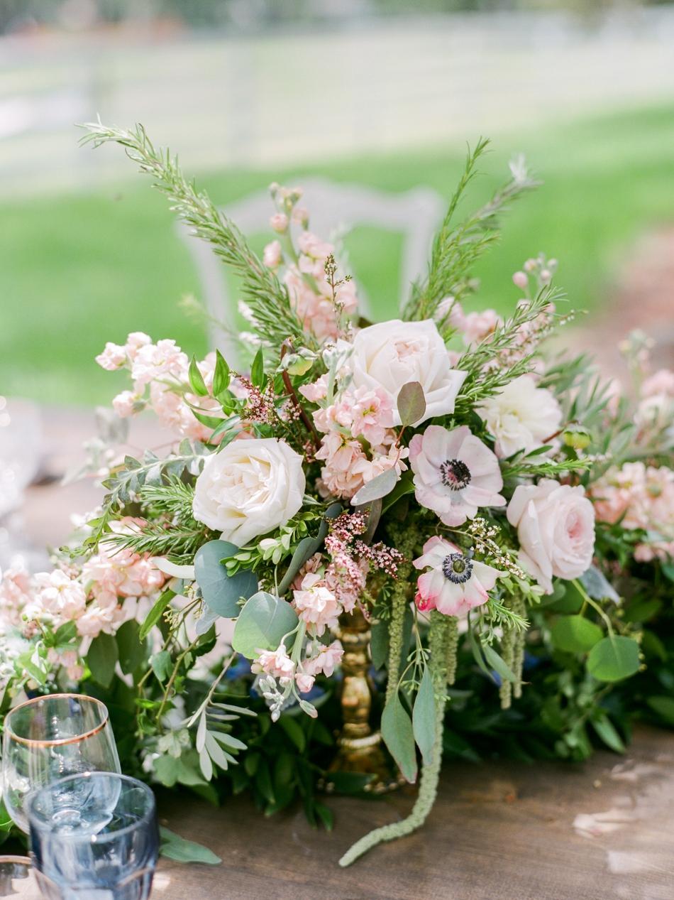 Reception flower centerpiece
