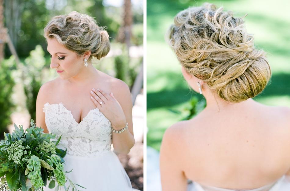 makeover station wedding hair