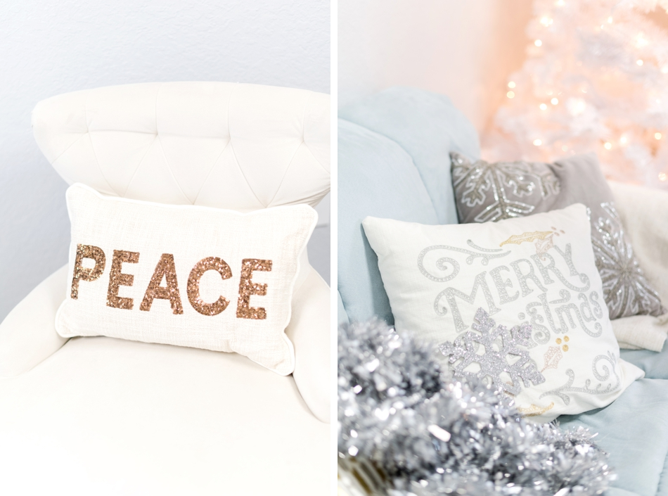 decorative holiday throw pillows