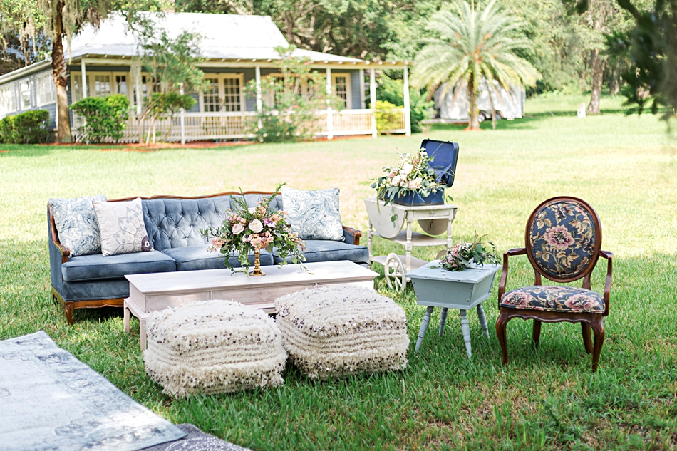 vintage ceremony furniture