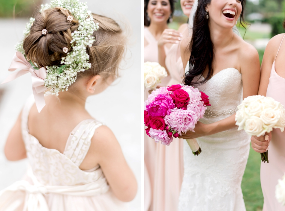 cute flower girl hair ideas