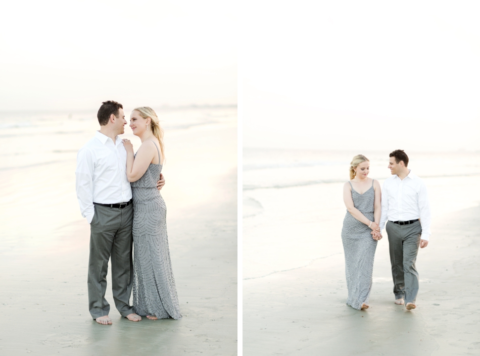 cocoa beach engagement session